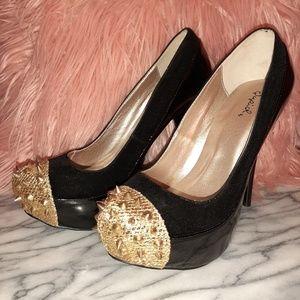 Louboutin inspired astroid heels